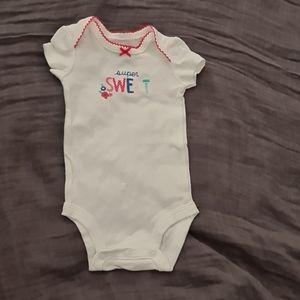 Carter's Newborn Super Sweet Bodysuit
